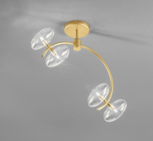 Dolce 03 plafondlamp Metal Lux