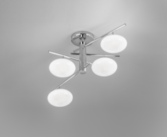 Dolce 34 plafondlamp Metal Lux