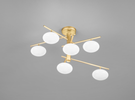 Dolce 36 plafondlamp Metal Lux