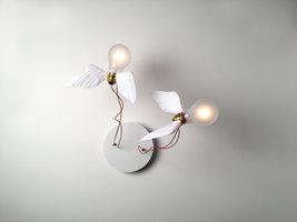 Lucellino Doppio wandlamp Ingo Maurer