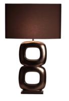 Maxime golden brons glans 2 tafellamp Stout