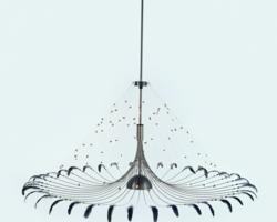 Bird Ø 125 cm hanglamp Quasar