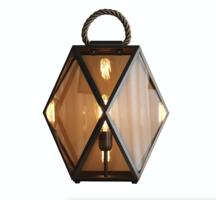 Muse medium lantaarn vloerlamp Contardi