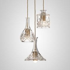 Decanterlight Chandelier 3 piece hanglamp Lee Broom