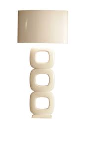 Maxime wit vloerlamp Stout