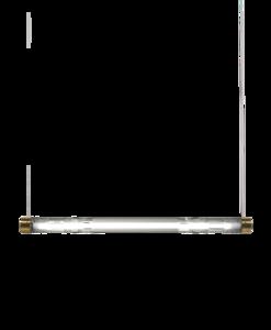 Crystal Tube Light hanglamp Lee Broom