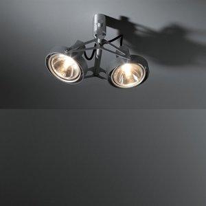 Nomad 2x par30 opbouwspot Modular