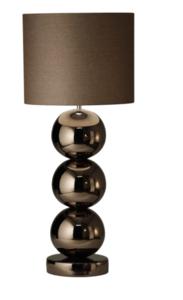 Milano 3 bol brons glans tafellamp Stout