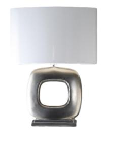 Maxime nikkel mat 1 tafellamp Stout