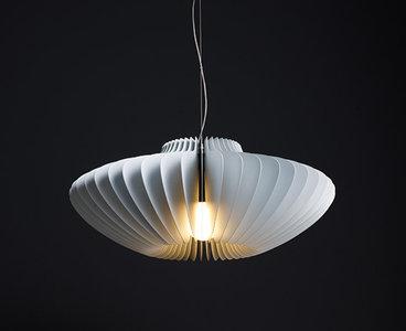 Molto luce lamella pesca hanglamp mooi verlichting - Vertigo verlichting ...