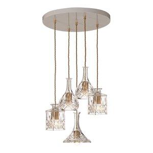 Decanterlight Chandelier 5 pieces hanglamp Lee Broom