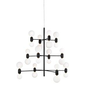 Aballs chandelier 12 hanglamp parachilna