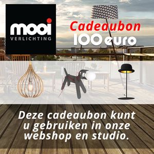 Mooi Verlichting - Cadeaubon - 100 Euro - Mooi Verlichting