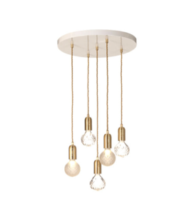 Lee Broom Clear Crystal Bulb Chandelier Hanglamp