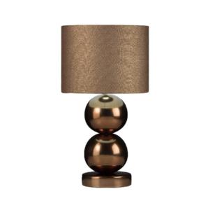 Milano 2 xl bol golden brons  tafellamp Stout